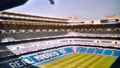 Сантьяго Бернабеу Реал Мадрид