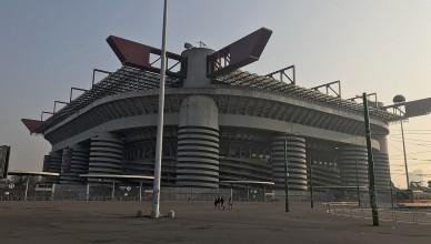 Милан и Интер стадион «Сан-Сиро»