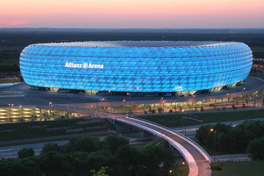Аллианц Арена в Мюнхене