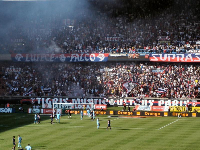 Французские фанаты