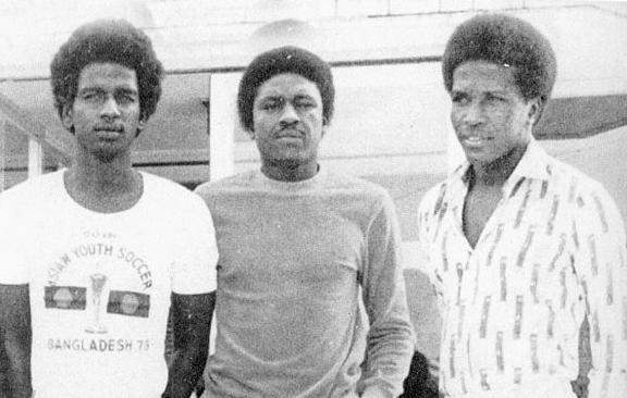 Majed Abdullah, Tawfiq Al Muqrin и Abdullah Abed Rabbo