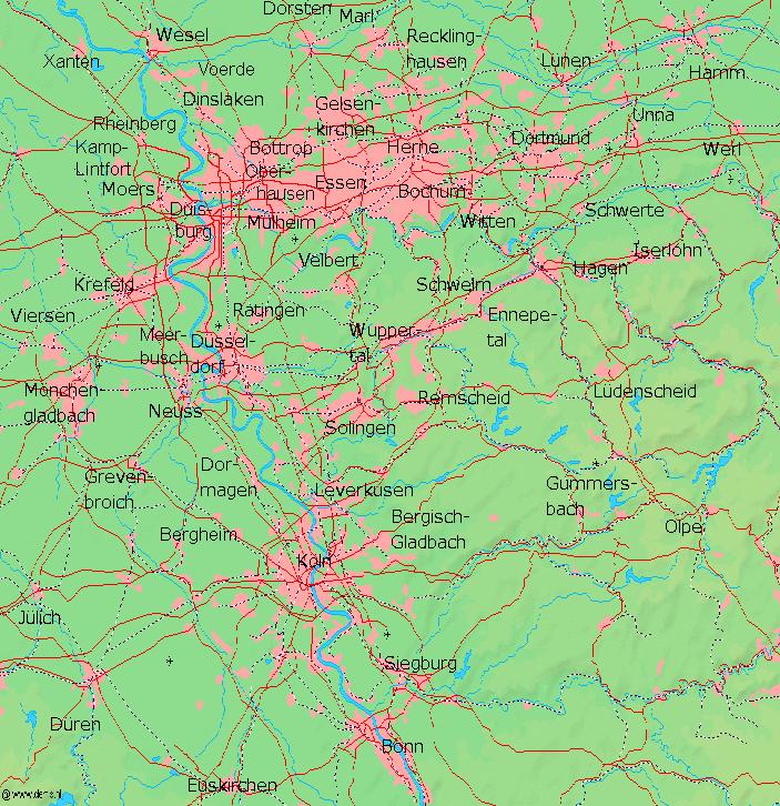 Рейнско-Рурский регион