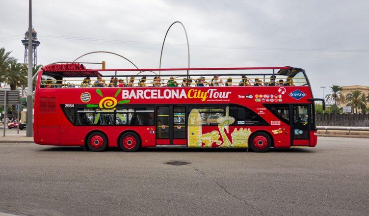 Барселона. Туристический автобус