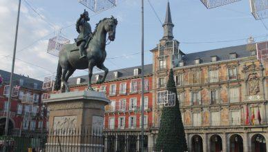 Пласа де Майор в Мадриде