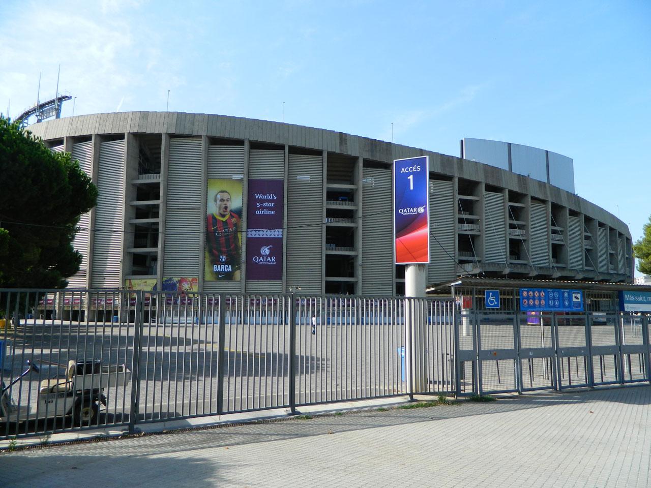 Испания стадион FCB