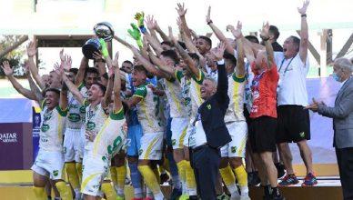 Дефенса и Хустисия в финале Южноамериканского кубка