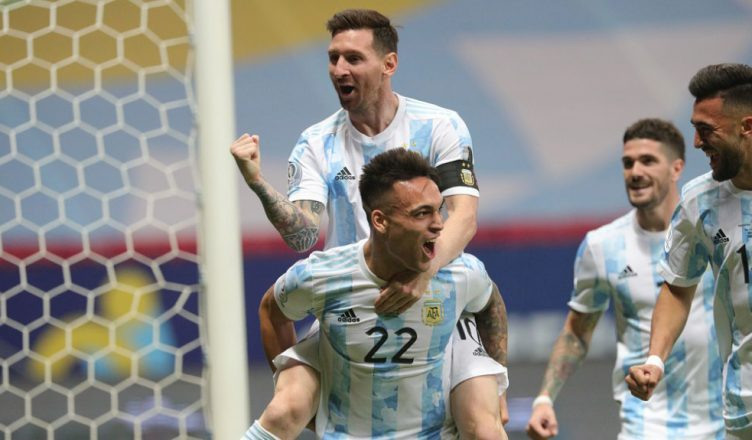Аргентина вышла в финал Кубка Америки