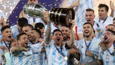Аргентина победитель Кубка Америки 2021