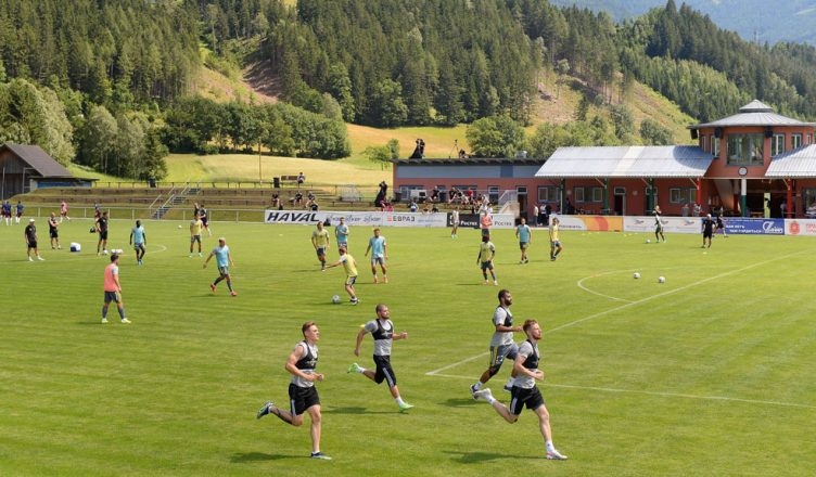 Тульский «Арсенал» на сборах в Австрии