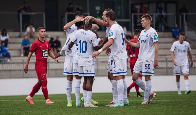 «Динамо» разгромило «Будафоки МТЕ» в товарищеском матче