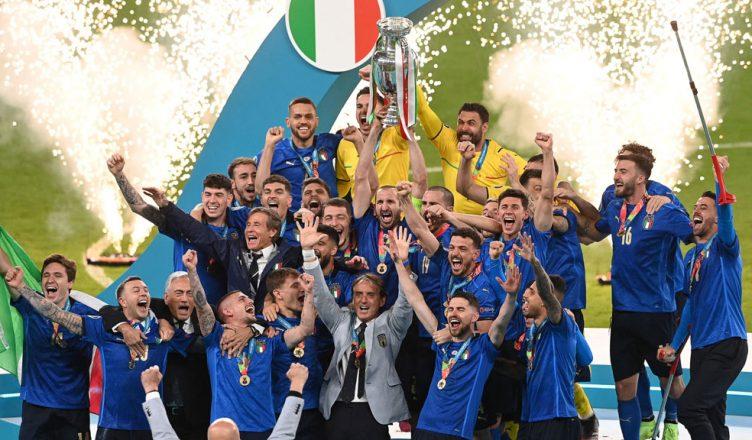 Италия чемпион Европы 2020