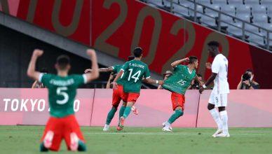 Мексика разгромила Францию в группе на Олимпиаде