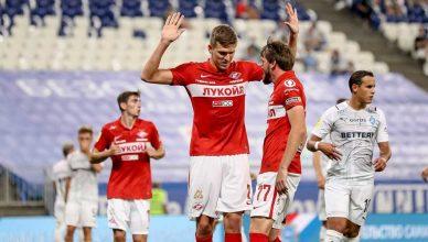 Победный пенальти Соболева в Самаре
