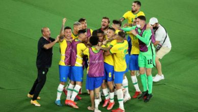 Гол Малкома принес сборной Бразилии золото на Олимпийских играх
