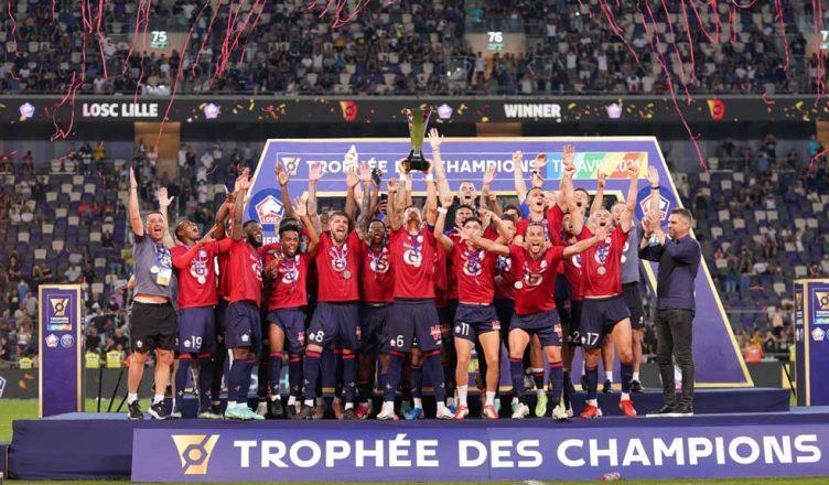 «Лилль» выиграл Суперкубок Франции